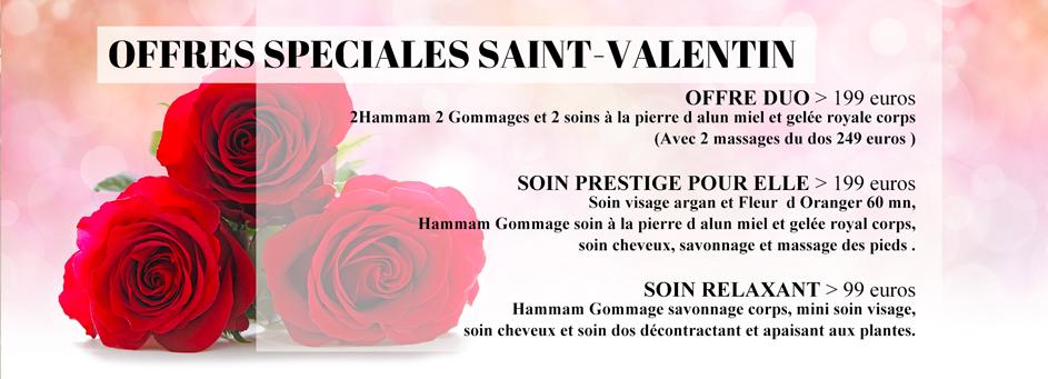 Offres St Valentin 2021